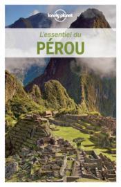 L'essentiel du Pérou - Couverture - Format classique