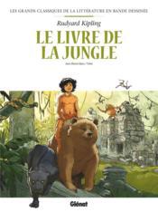Le livre de la jungle en BD - Couverture - Format classique