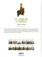 Le livre de la jungle en BD - 4ème de couverture - Format classique