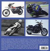 Yamaha ; la passion du futur - 4ème de couverture - Format classique