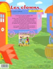 Clowns - 4ème de couverture - Format classique