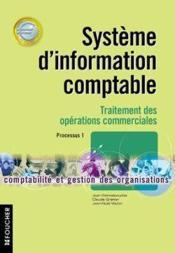 Systeme D'Information Comptable Bts Cgo ; Ope Commerciales - Couverture - Format classique