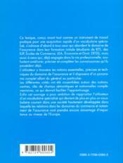 Abc Lexical De L'Assurance Allemand - 4ème de couverture - Format classique