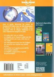 Toscane Et Ombrie ; 1e Edition - 4ème de couverture - Format classique