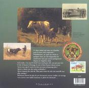Memoires des vaches et des boeufs - 4ème de couverture - Format classique