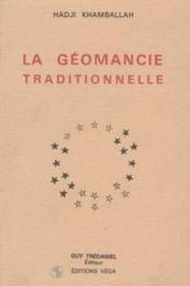 Geomancie traditionnelle (la) - Couverture - Format classique