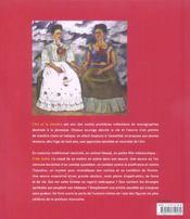 Frida Kahlo, une peinture de combat - 4ème de couverture - Format classique
