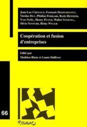 Coopération et fusion d'entreprises t.66 - Couverture - Format classique
