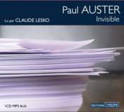 Invisible - Couverture - Format classique