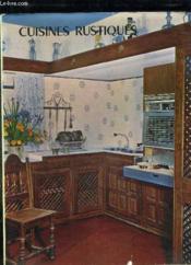 Cuisines Rustiques. - Couverture - Format classique