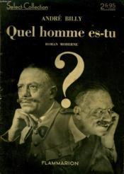 Quel Homme Es-Tu ? Collection : Select Collection N° 140 - Couverture - Format classique