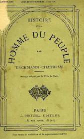 Histoire D'Un Homme Du Peuple - Couverture - Format classique