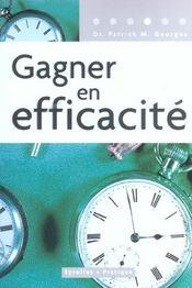 Gagner en efficacité (2e édition) - Intérieur - Format classique