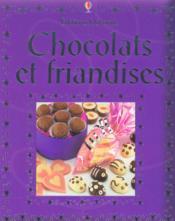 Chocolats Et Friandises - Couverture - Format classique