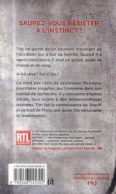 Instinct t.1 - 4ème de couverture - Format classique