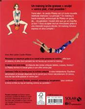 MON CAHIER ; cardio pilates - 4ème de couverture - Format classique
