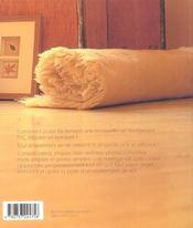Revetements de sol ; techniques de pose - 4ème de couverture - Format classique