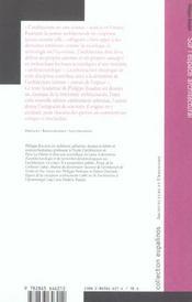 Sur L'Espace Architectural - 4ème de couverture - Format classique