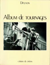 Album de tournages - Couverture - Format classique