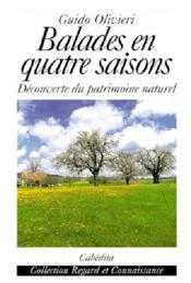 Balades En Quatre Saisons - Couverture - Format classique