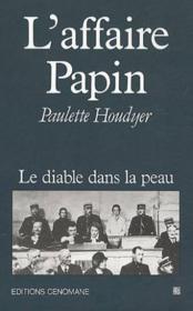 Affaire papin - Couverture - Format classique
