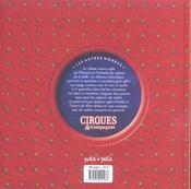 Cirque Et Compagnie - 4ème de couverture - Format classique