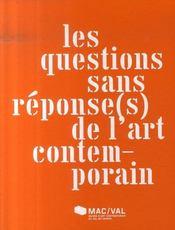 Les questions sans réponse(s) dans l'art contemporain - Intérieur - Format classique