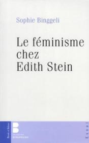 Le féminisme chez Edith Stein - Couverture - Format classique
