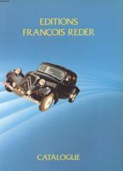 Catalogue Automobile - Couverture - Format classique