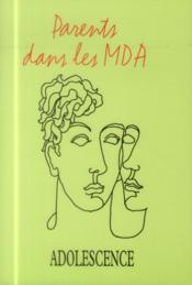 REVUE ADOLESCENCE N.89 ; parents dans les MDA - Couverture - Format classique