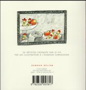L'art à table - 4ème de couverture - Format classique