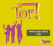 TOR ; allemand ; 1e année ; niveau A1 A2 ; 3CD audio pour la classe - Intérieur - Format classique
