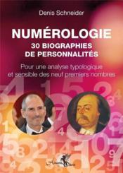 Numérologie : 30 biographies de personnalités - Couverture - Format classique