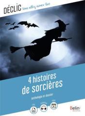 4 histoires de sorcières - Couverture - Format classique