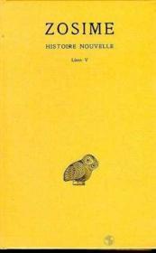 Histoire nouvelle t.3 ; livre 5, 1ère partie - Couverture - Format classique