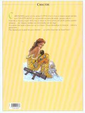 Septentryon t.4 ; tireur aveugle - 4ème de couverture - Format classique