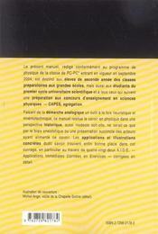 Bible De Physique Pc-Pc* - 4ème de couverture - Format classique