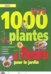 1000 Plantes Et Fleurs - Intérieur - Format classique