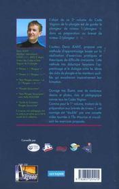 Code Vagnon de la plongée.. 2. Code Vagnon de la plongée. Préparation aux brevets de niveau 2. Volume : 2 - 4ème de couverture - Format classique