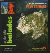 Balades en pays cathares - Couverture - Format classique