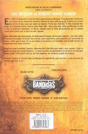 Bandidas - 4ème de couverture - Format classique