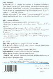 Culture & Religion Europe Xix Siecle - 4ème de couverture - Format classique