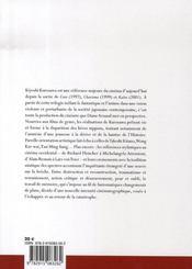 Kyioshi Kurosawa ; mémoire de la disparition - 4ème de couverture - Format classique