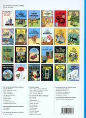 Les aventures de Tintin T.8 ; le sceptre d'Ottokar - 4ème de couverture - Format classique