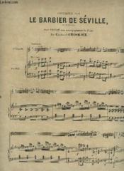 Fantaisie Sur Le Barbier De Seville - Piano Et Violon. - Couverture - Format classique