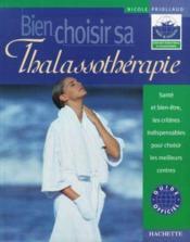 Bien Choisir Sa Thalassotherapie - Couverture - Format classique