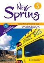 NEW SPRING ; anglais ; 5ème ; LV1 ; workbook (édition 2007) - Couverture - Format classique
