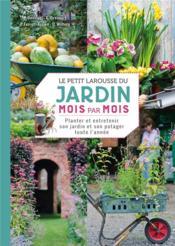 Le petit larousse du jardin mois par mois - Couverture - Format classique