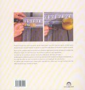 Les patines - secrets d'ateliers - 4ème de couverture - Format classique