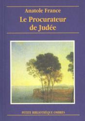 Le procurateur de Judée - Couverture - Format classique